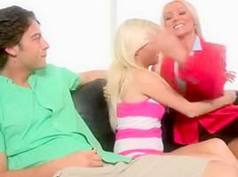 Diana doll milf+teens threesome
