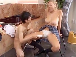 Extreme massage sex blonde girlporno milf
