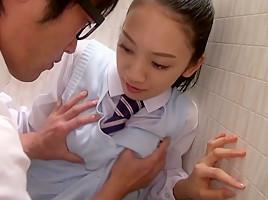 An Tsujimoto in Tsujimoto The Slutty Schoolgirl - TeensOfTokyo