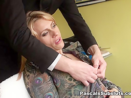 Brittany: made to wank watching PSS - PascalSsubsluts