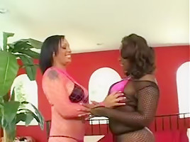 Incredible Big Natural Tits video with Black and Ebony,Big Butt scenes