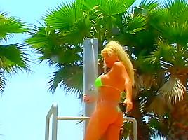 Sunbathing Brunette Fucked By Stranger