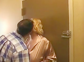 Samantha with big tits can t walk away from this horny guy