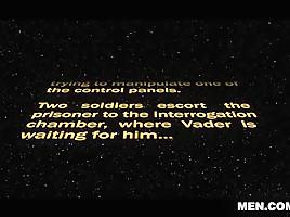 Dennis West & Vader in Star Wars 3 : A Gay XXX Parody - DrillMyHole