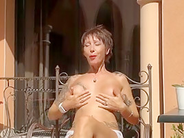 Horny French clip with Mature,Piercing scenes