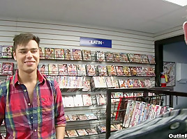 Video Store Fucking - OutInPublic