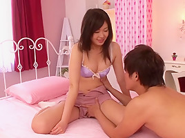 Marin Natsukaze in Girl Couple Gets Wet And Wild In The Bedroom - JapansTiniest
