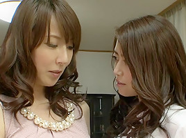 Reiko Sawamura in Bored Housewives Discover Each Other - MilfsInJapan