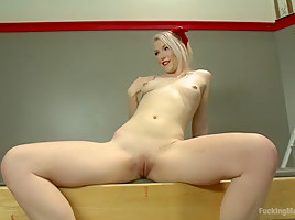 Ella is so Fine Tied up & Fucked By Machines She SQUIRTS UNEXPECTEDLY!