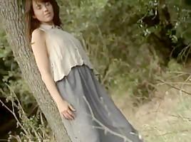 Hungarian babe in italian movie  gangbang anal pain