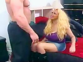 Mature blonde silicone doll prostitute