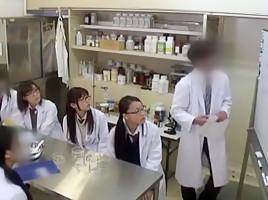 Incredible Japanese girl Miyabi Tsukioka, Ren Azumi in Amazing Medical, Doggy Style JAV scene
