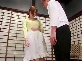 Hottest Japanese girl Yuna Shiina in Crazy Threesomes, Creampie JAV movie