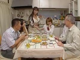 Exotic Japanese girl Aya Kiriya, Tiara Ayase, Azumi Mizushima in Crazy Group Sex, POV JAV video