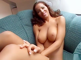 Amazing pornstar Angel Dark in hottest interracial, big tits adult movie