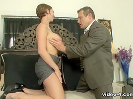 Chance Caldwell & Destiny Porter in Destiny Porter Flaunts All Her Assets To Please Her Boss - BestGonzo