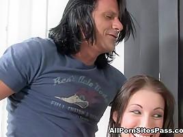 Allison Pierce & Brandi Lyons in Blowjobs Cumshots  Video - AllPornsitesPass