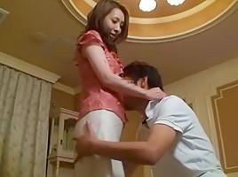 Exotic Japanese chick Ryo Shinohara in Fabulous Fingering, Wife JAV video