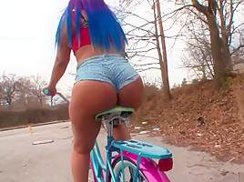 Amazing pornstar Yaya Banks in exotic hd, black and ebony sex clip