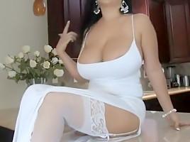 Jaylene Rio In White