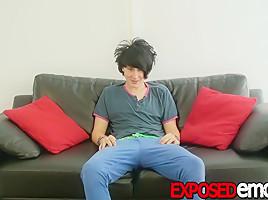 Alex Horler in Twink Dude Alex Horler Is Eager To Work His Emo Dick - ExposedEmos