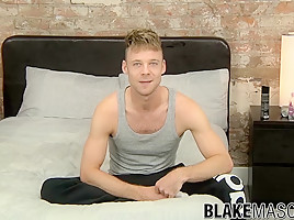 Tommy Skylar in Big dicked twink Tommy Skylar enjoys his special solo time - BlakeMason