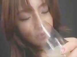 DRINKERS SEMEN Manami Suzuki