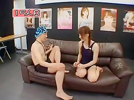 Incredible Japanese girl Fuka Nanasaki in Amazing Blowjob, Girlfriend JAV scene