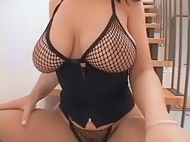 Incredible pornstar in crazy interracial, milfs sex video