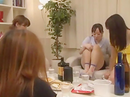 Hottest Japanese model Nao Mizuki, Ren Hasumi, Kyouko Maki in Crazy Cunnilingus JAV movie