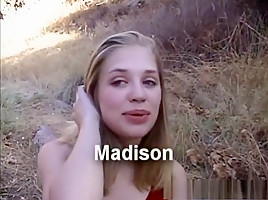 Exotic pornstar Madison Sins in hottest college, outdoor adult movie