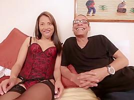 Amazing pornstar in fabulous lingerie, hd sex clip