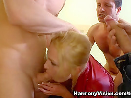 Ivana Sugar in Three Studs And One Stunner - HarmonyVision