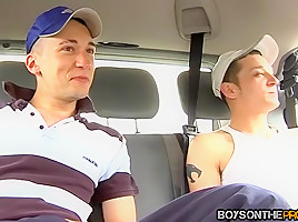 Callum Baxter & Jonny Ryder & Kristian Kerner in Callum Baxter is willing to do anything for some cash - BoysOnTheProwl