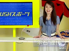 Horny Japanese model Kyoko Misumi, Azusa Kato in Fabulous Voyeur, Handjobs JAV movie