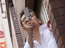 Crazy Japanese whore Riri Kuribayashi in Incredible Gangbang, Cougar JAV clip