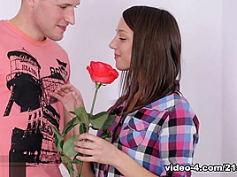 Foxy Di in The First Time - 21Sextury