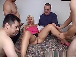 Amazing pornstar Heather Huntley in best swallow, blonde porn clip