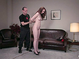 Amber Keen in Casting Couch 5 Blue-Eyed Beauty Tied & Fucked - HogTied