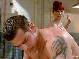 Marcus Ruhl & Maitresse Madeline Marlowe in Maitresse Madeline Searches For A Personal Slave For Her Home. - DivineBitches
