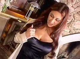Busty Cougar Gets Ready To Fuck A Thick Black Cock