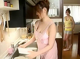 Best Japanese whore Momoka Nishina, Wakana Kinoshita in Fabulous Cunnilingus, Big Tits JAV movie
