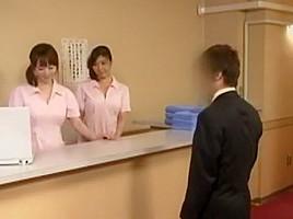 Horny Japanese girl Kaoru Hirayama, Emiri Momoka, Sumire Matsu in Best Fetish, Changing Room JAV video