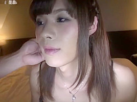 Exotic Japanese whore in Hottest Stockings JAV movie
