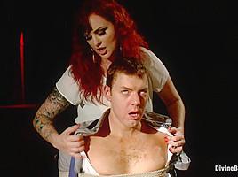Mz Berlin & Drew Steel in Mz Berlin's Casting Call Humiliation - DivineBitches