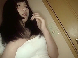 Incredible Japanese whore in Hottest Blowjob JAV clip