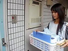 Incredible Japanese slut Sayaka Fukuhara, Ryo Shinohara in Fabulous Handjobs, Blowjob JAV clip