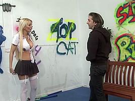 Hottest pornstar Antonia Deona in crazy big tits, blonde adult clip