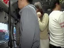 Amazing Japanese chick in Best Gangbang JAV scene