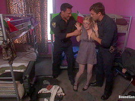In american girl mexico trapped first gangbang